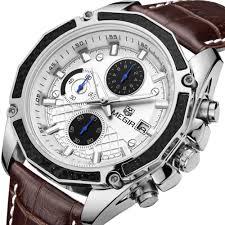 compare prices on top men watches brands online shopping buy low megir men watches top brand luxury sport relogio masculino quartz watch erkek kol saati pilot