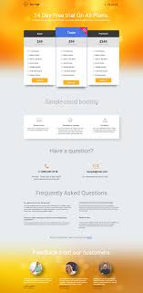 Pricing Table Templates 200 Customizable Landing Page Templates For You Landingi