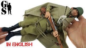 Assembly of Russian Soldier (RKKA) <b>World War</b> II <b>1/6</b> Scale action ...