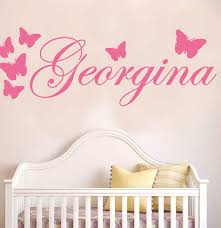 Design Your Own Wall Decal Best Top 10 Personalised Wall Stickers With Butterflies Near