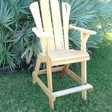 Tall Adirondack Chairs Handmade Chair Extra Tall Design By Island
