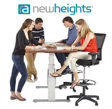 New heights furniture Yhome Newheights Electric Height Adjustable Tables Diva Furniture Seattle Ergonomic Office Products Newheights Electric Height Adjustable