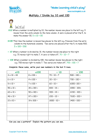Multiplication Worksheets, Homework, Maths, Numeracy, KS2 - TMKed