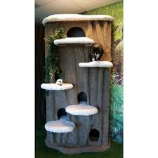 Chic cat furniture Heavy Duty 96 The Meow Place Cat Trees Condos Youll Love Wayfair