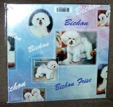 image is loading bichon frise gift wrapping paper w matching gift
