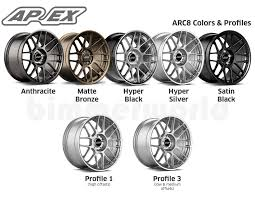 Apex Arc 8 Wheel