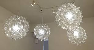 plastic lighting. recycled plastic bottle pendent lamps lighting e