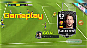 Barcelona Wonder Kid Carles Perez Gameplay in FIFA Mobile 20 ...