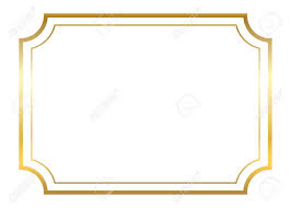 simple frame design. Unique Frame Gold Frame Beautiful Simple Golden Design Vintage Style Decorative  Border Isolated On White On Simple Frame Design I