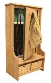Hidden Gun Coat Rack hall tree gun cabinet and 100 other places to store and conceal your 26
