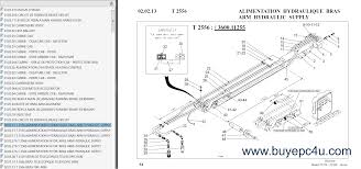 bobcat telescopic handlers t series parts manuals pdf the screenshot of the bobcat spare parts catalogue 4