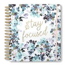 Tri Coastal Design Planner 2019 2019 2020 Stay Focused 17 Month Daily Planners Calendars Tri Coastal Design Planners With Monthly Weekly And Daily Views Personal Planner
