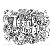Small Picture Thank You Coloring Page Coloring books Adult coloring and