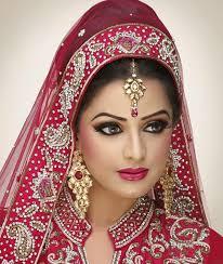 latest best bridal makeup tips for dark skin