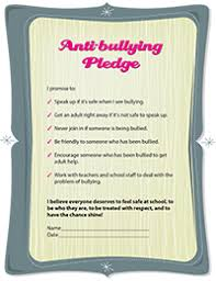 how to stop bullying at school girlshealth gov anti bullying pledge