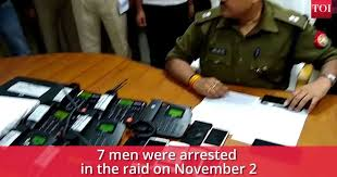 7 Bust 10 Sector Arrested In Call Noida Police Centre Fake 8xO071