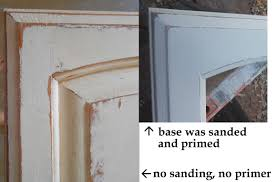 Painting Old Wooden Door Oak Kitchen Cabinet Using Chalk With White Color  Ideas