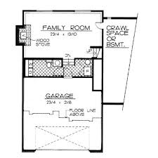 Ideas garage basement house plansfloor plan for classic split level house plan
