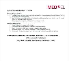 Cv For Account Manager Account Manager Resume Templates Doc Free Premium Cv