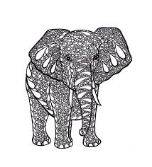 Small Picture 72 best Zentangle Elephants images on Pinterest Draw Mandalas