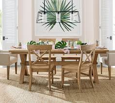 toscana extending dining table seadrift pottery barn dining table93
