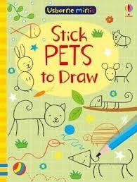 mini books stick pets to draw usborne mini books sam smith