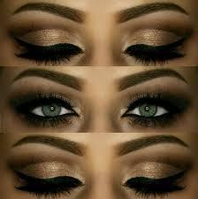 dramatic arabian inspired eyes