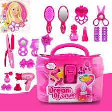 makeup kit for little girls. pudcoco lovely babies cute princess little cosmetics kit pretend play makeup set girls preschool kid beauty for