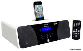 office radios. Pyle - PHSCI20W , Home And Office Alarm Clock Radios Plug-in Speakers B