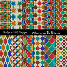 Moroccan Tile Pattern Best Moroccan Tile Digital Patterns By Scrapster By Melissa Held Designs