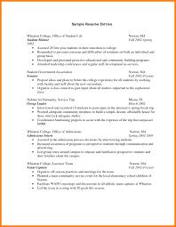Sample College Freshman Resume 100 college freshman resume example report examples 34