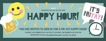 Happy Hour Invitation Template Happy Hour Invite Template Archives Hashtag Bg
