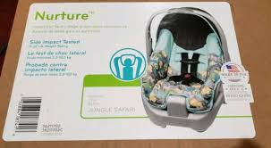 evenflo nurture jungle safari infant