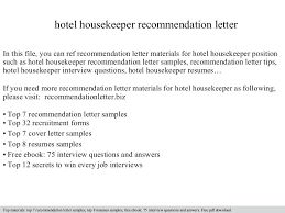 hotel housekeeping resume sample  jalcine.me