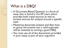 document based question essay example organ transplantation and  example dbq based on the following documents analyze the responses to the sp of slideplayer