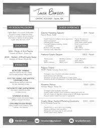 Fresh Barber Resume 16 Resume Tanya Barber Graphic Designer ...