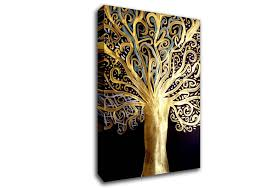 tree of life canvas wall art uk
