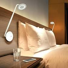 gooseneck bedside reading light wall mounted bedroom lights headboard lamps for full size flexible sconce task lamp