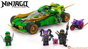Đồ Chơi Xếp Hình LEGO NINJAGO Lắp Ráp Siêu Xe Ninja Chiến Binh Bóng Đêm |  Lego Speed Build Review - YouTube