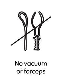Visual Birth Plan Icons No Vacuum Or Forceps Icon Visual Birth Plan Icons Pinterest