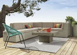 cb2 patio furniture. view in gallery blue outdoor chair from cb2 cb2 patio furniture