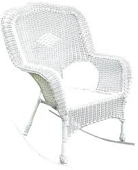 semco plastic resin rocking chair recycled