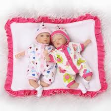 <b>8</b> inch <b>Mini Palm</b> Little Doll Babies twins lovely <b>20 cm</b> Silicone Vinyl ...