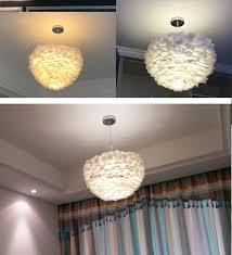 Großhandel Nordic Moderne Designer Led Anhänger Decke Hängen Feder Licht Lampen Für Loft Küche Loft Esszimmer Wohnzimmer Bar Von Dpgkevinfan 603