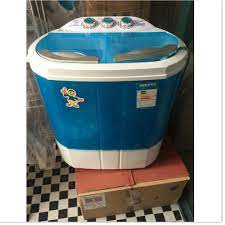Máy giặt mini 2 lồng giặt kiêm chức năng sấy khô tốt giá rẻ