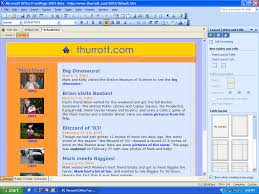 Microsoft Office Front Page Best Of Fice Frontpage 2003