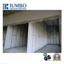 prefab concrete aac wall panels lightweight partition walls sound proof