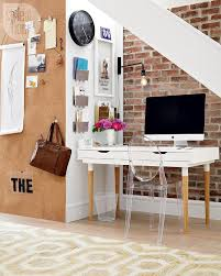 cozy home office desk furniture. officecomfortable home office design with beautiful painting in black bookshelf also striking red sofa cozy desk furniture o
