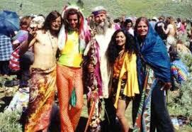 Afbeeldingsresultaat voor bloemenkinderen hippies 68 woodstock