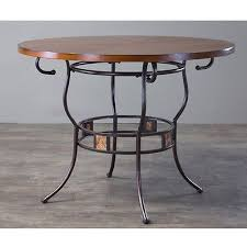 tirana wood and metal transitional dining table dining sets new